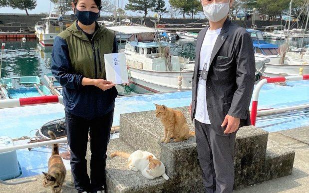 湯島(猫島)× ニューコ・ワン 合同企画 『ねこフェス』で集まった 「ねころび募金」のお礼とご報告